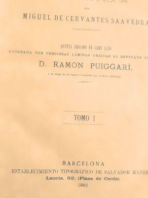 libro don quijote de la mancha 5 edicion