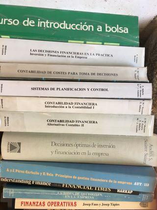 Libros finanzas en buen estado