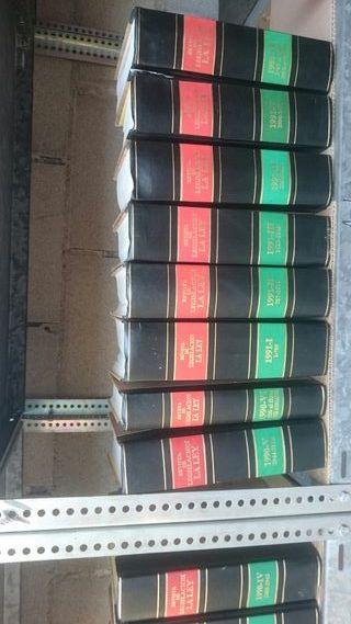 coleccion revista de legislacion LA LEY