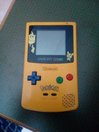 game boy color edicion pokemon amarillo