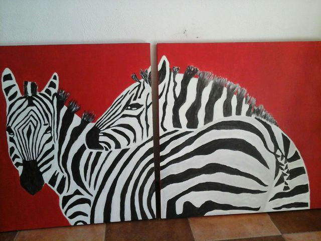 Cuadros zebra