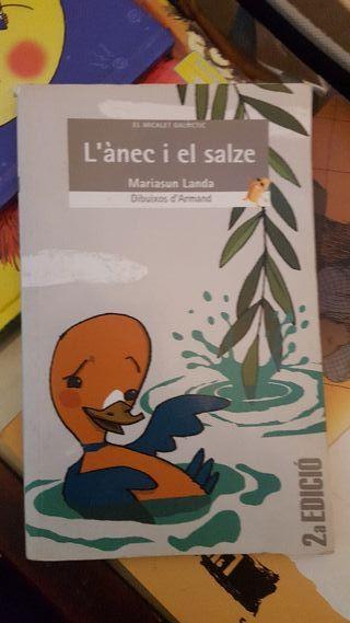 Libro L'ànec í el salze (primaria)
