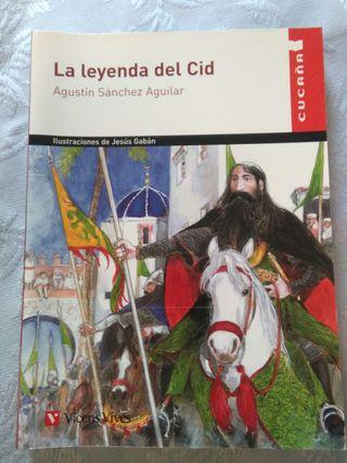 """Libro """"La leyenda del Cid"""""""