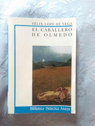 """Libro """"El caballero de Olmedo"""""""