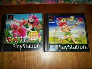 Tombi 1 + Tombi 2 playstation juegos psx