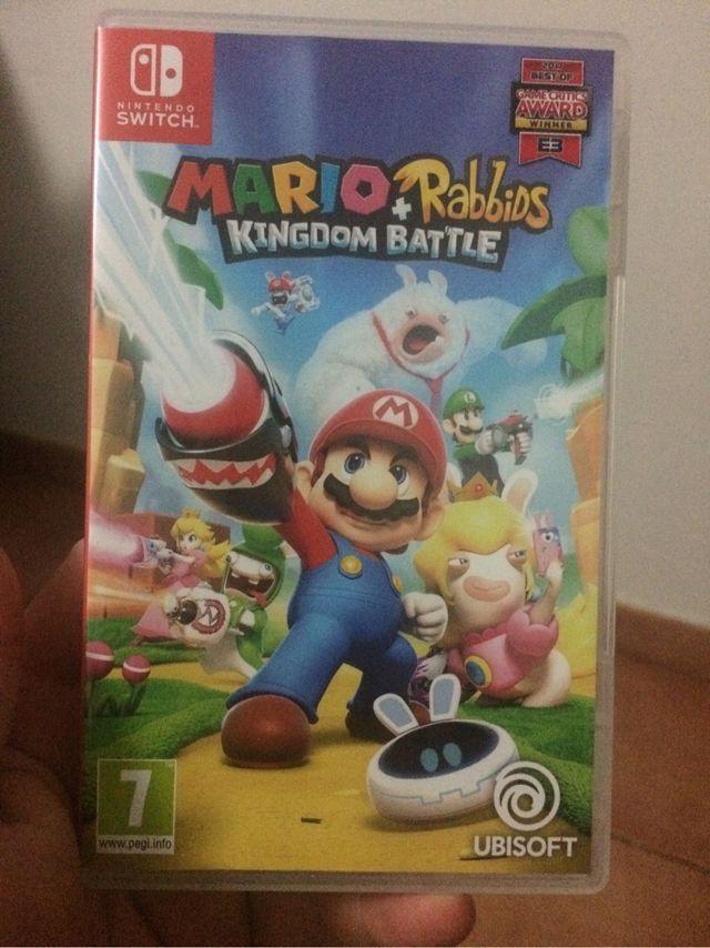 Juego Nintendo Switch Mario Rabuda De Segunda Mano Por 40 En