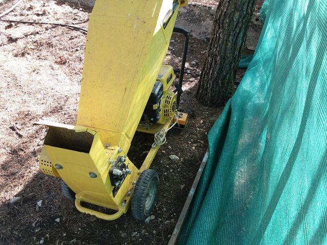 trituradora de ramos