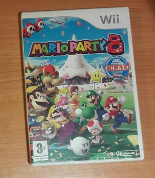 Wii Mario Party De Segunda Mano En Wallapop