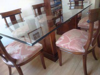 Mesa+6 sillas