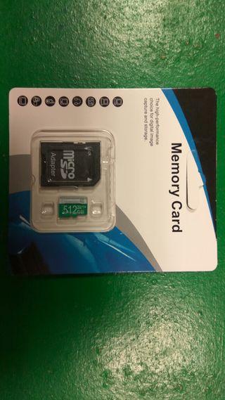 512GB Tarjeta micro sd
