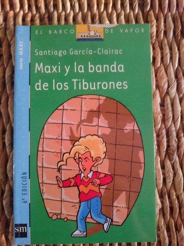 """Libro """"Maxi y la banda de los tiburones"""". Nuevo"""