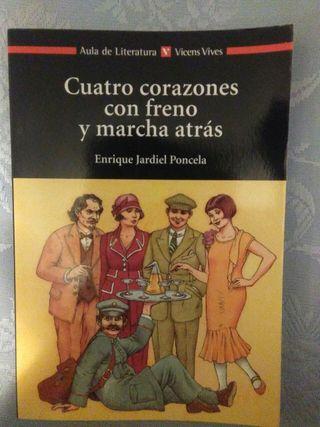 """Libro """"Cuatro corazones con freno y marcha atrás"""""""