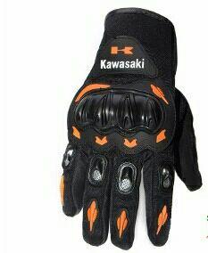 guantes motocross kawasaki niño
