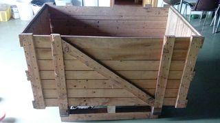 Cajones de madera palot el liquidacion 2x1