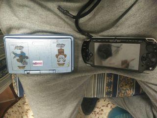 Nintendo ds y psp