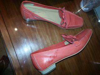 Zapatos mocasines coral 38 nuevos