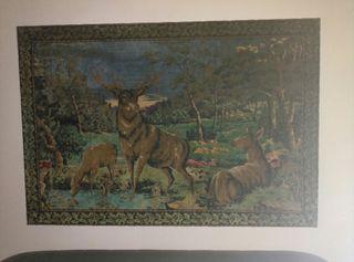 cuadro ciervos