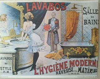 Laminas Vintage traídas de Paris