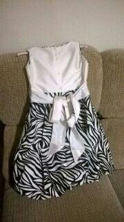 Vestido de ceremonia de niña