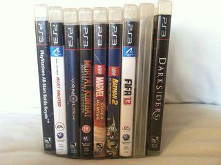 Consola ps3 + juegos