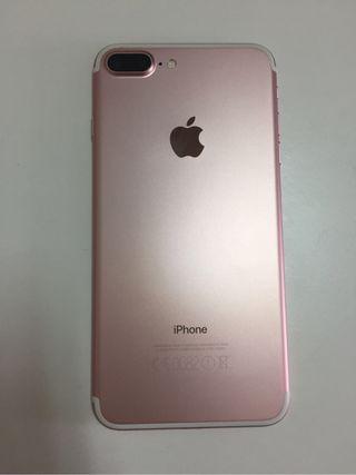 Iphone 7 plus 256 GB ORO ROSA
