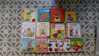 Lote libros en francés para bebés