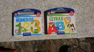 Libros Pizarra Numeros y Letras
