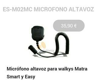 """Micrófono altavoz """"pera"""""""