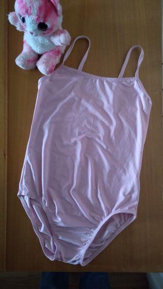 Maillot niña en rosa