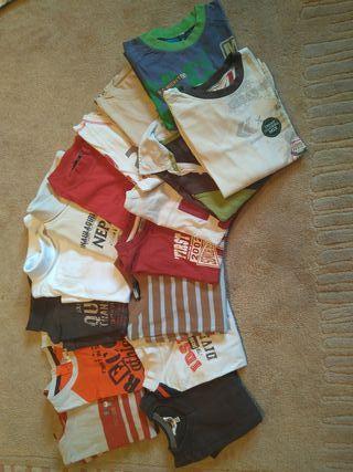 Camisetas ropa niño T-4
