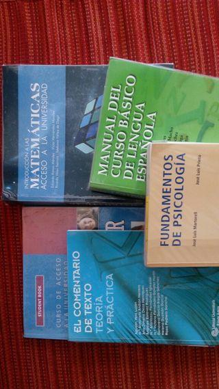 libros acceso mayores 25 años