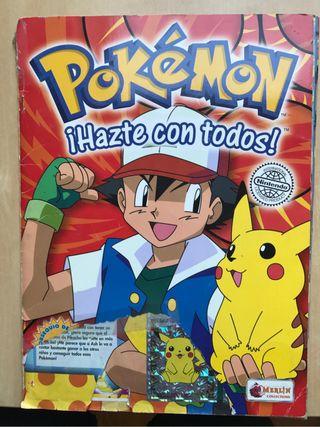 Álbum cromos Pokemon serie 1 rojo