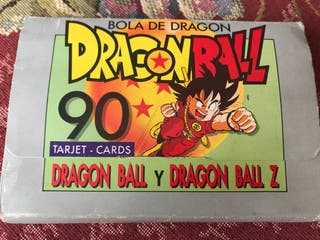 Tarjetas Dragon Ball y DBZ