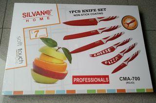 Juego de cuchillos SILVAN SIN USAR