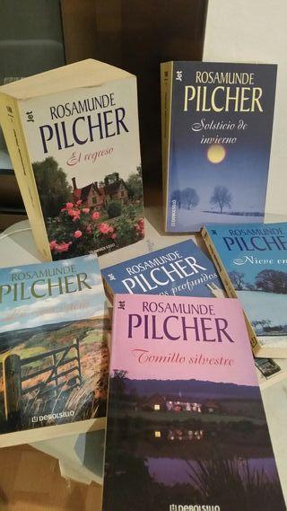 6 Libros Rosamunder Pilcher