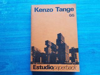 Kenzo Tange. libro de arquitectura. GG
