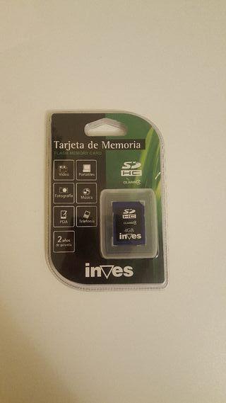 Tarjeta memoria 4GB