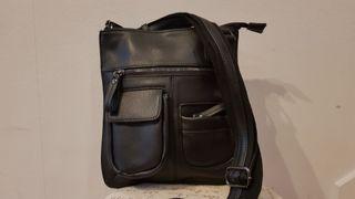Bolso ligero bandolera y viaje elegante negro PpqxrnRPfw