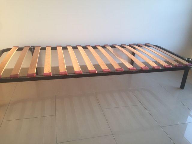 Cama, somier + colchón de segunda mano por 60 € en Sant Cugat del ...