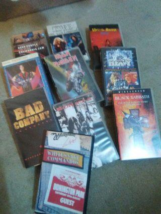 Vídeos musicales VHS