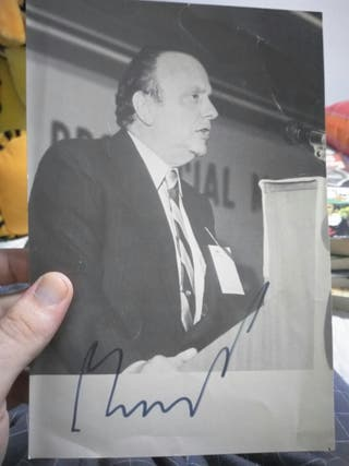 autografo Fraga