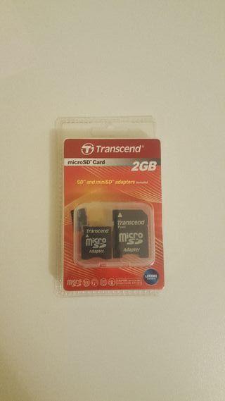 Tarjeta memoria 2GB