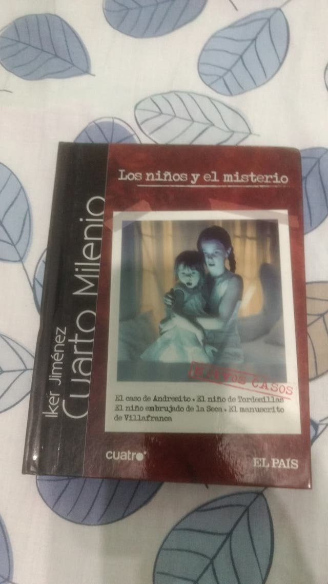 DVD Libro, Cuarto Milenio, Los niños y el Misterio de segunda mano ...