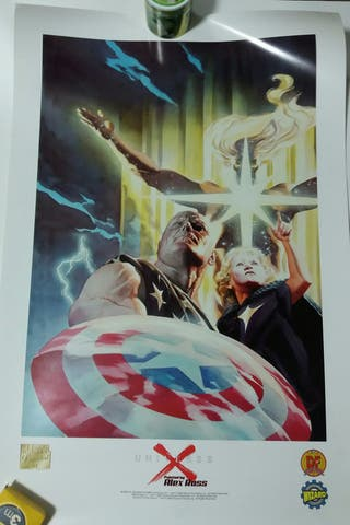 Marvel Universe X Alex Ross litografia