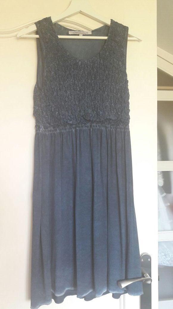 Vestido azul La Fée Maraboutée