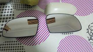 cristales saxo y carcasa espejo