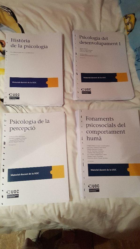 Llibres Psicologia UOC