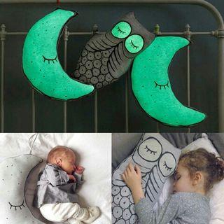 cojin de bebes iluminosos