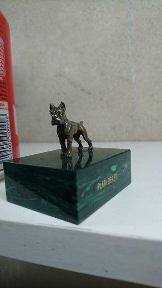Miniaturas Plata Perro y Alce