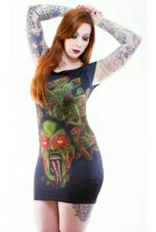 Vestido Necessary Evil talla S-M